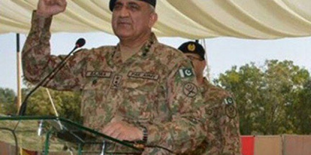 LOC, Army Chief General Qamer Javed Bajwa Address to Army men.